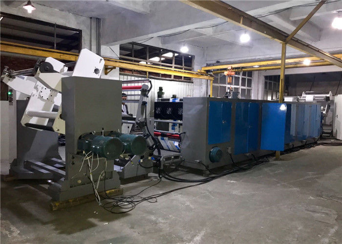 Horizontal Flexographic Automatic Printing Machine Non Stop Unwinding And Rewinding