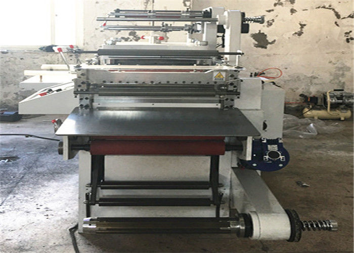 Compact Structure Label Die Cutting Machine 310*350mm Die Cut Size For HDPE / LDPE Film