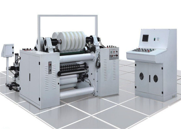 High Speed Label Slitter Rewinder Machine Photoelectric Correcting System